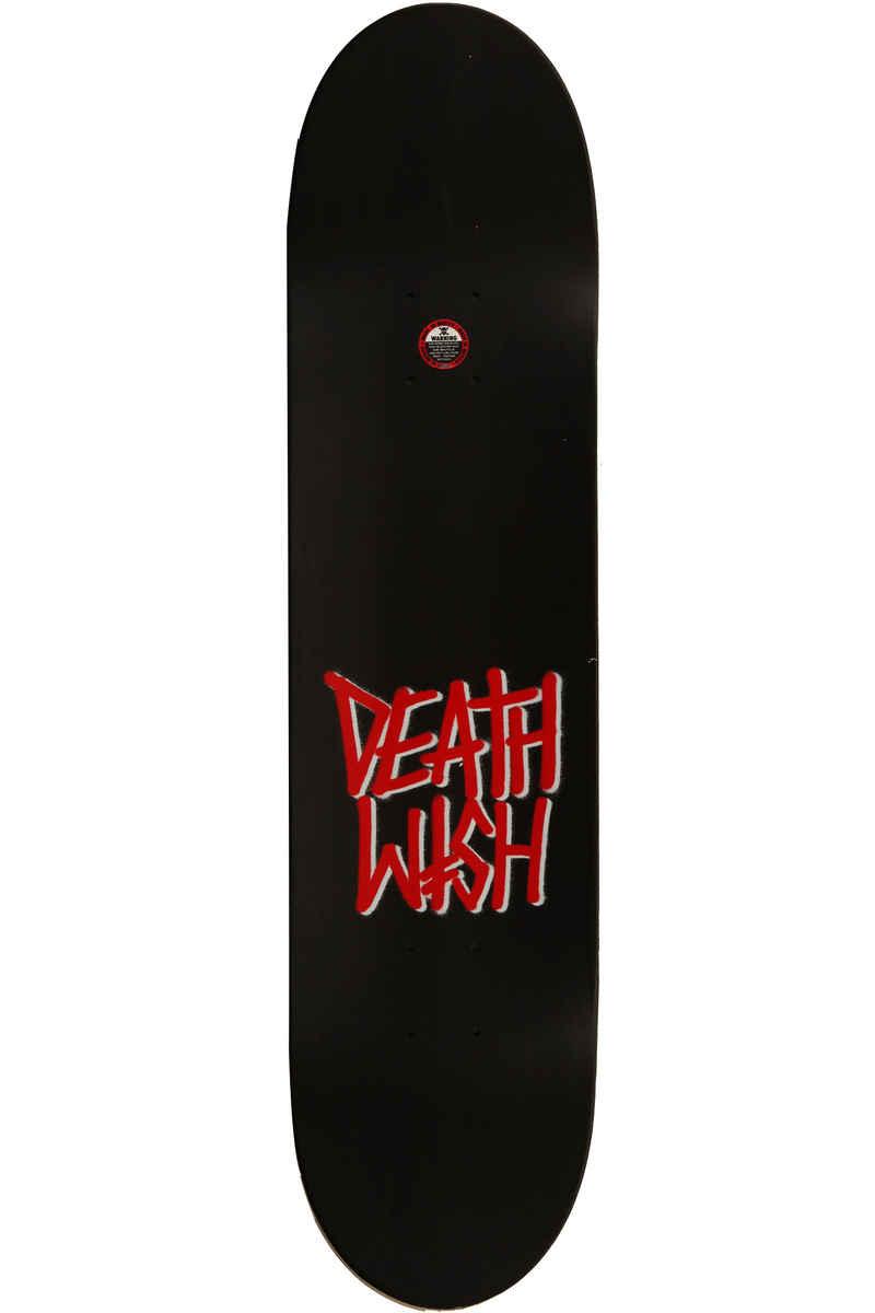 """Deathwish Deathspray 8"""" Deck (black red)"""
