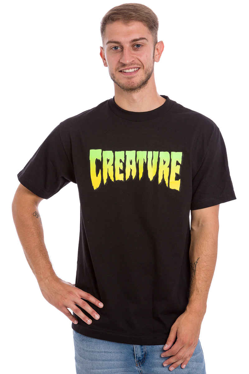 Creature Logo T-Shirt (black)