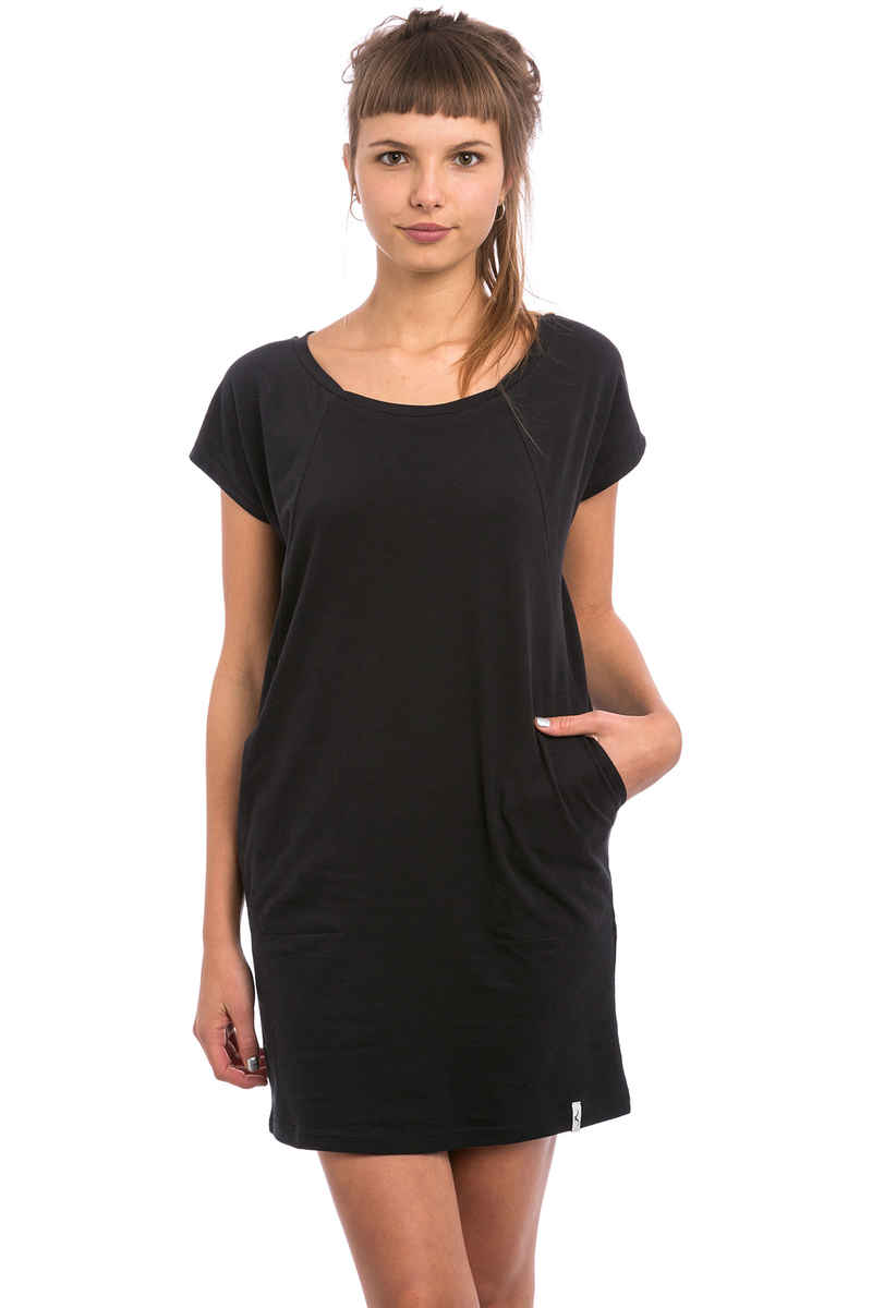 Cleptomanicx Organicx Dress women (black)