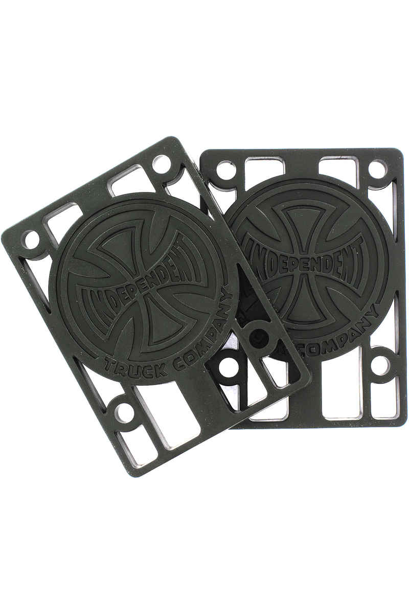 "Independent 1/4"" Riser Pads (black) 2er Pack"