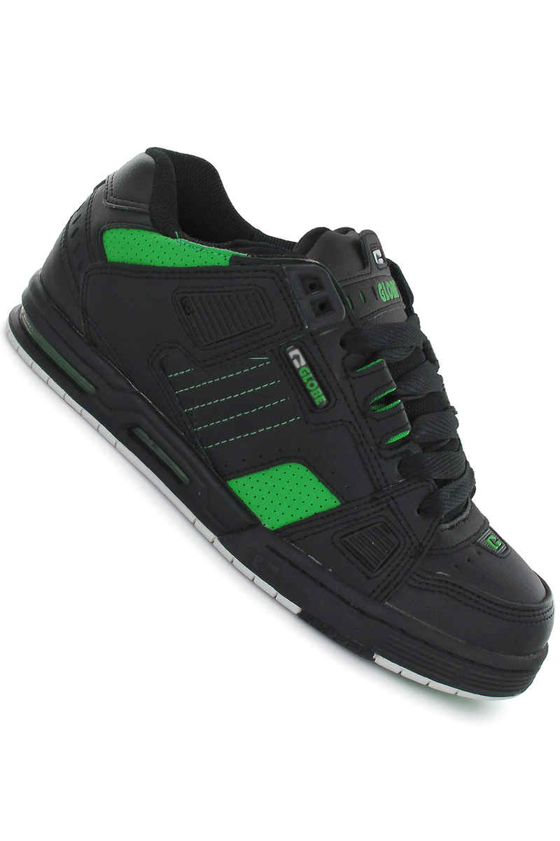 Globe Sabre Shoes (black moto green)