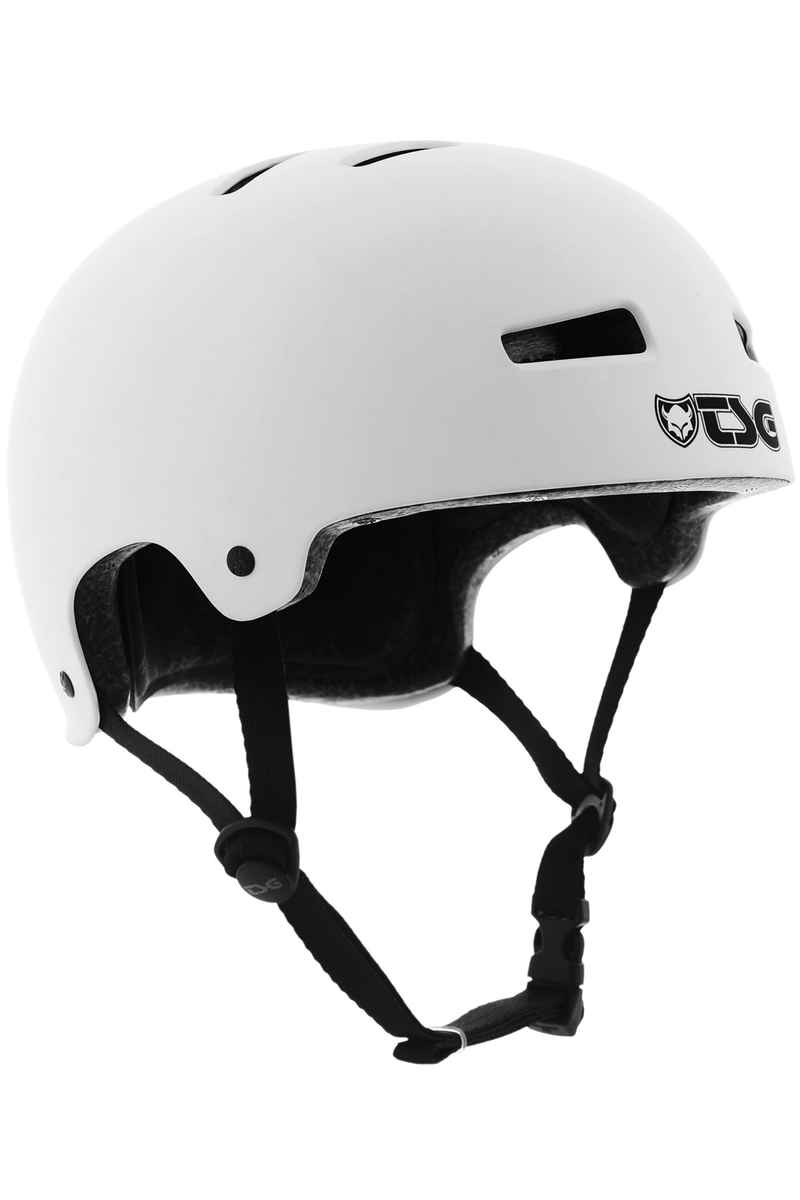 TSG Evolution-Solid-Colors Helm (flat white)