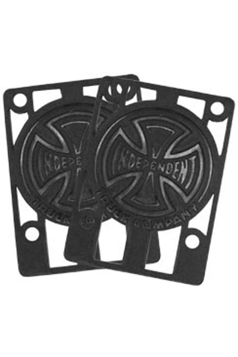 "Independent 1/8"" Riser Pads (black) 2 Pack"