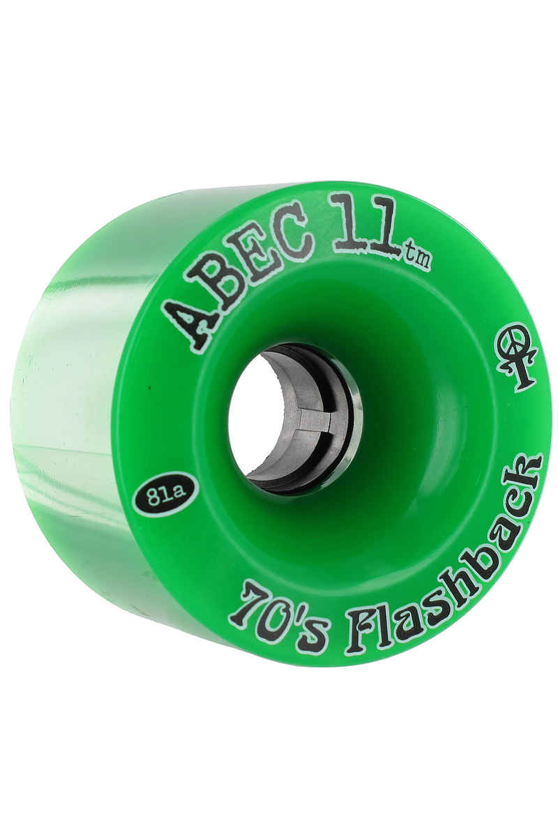 ABEC 11 Flashbacks 70mm 81A Roue (green) 4 Pack