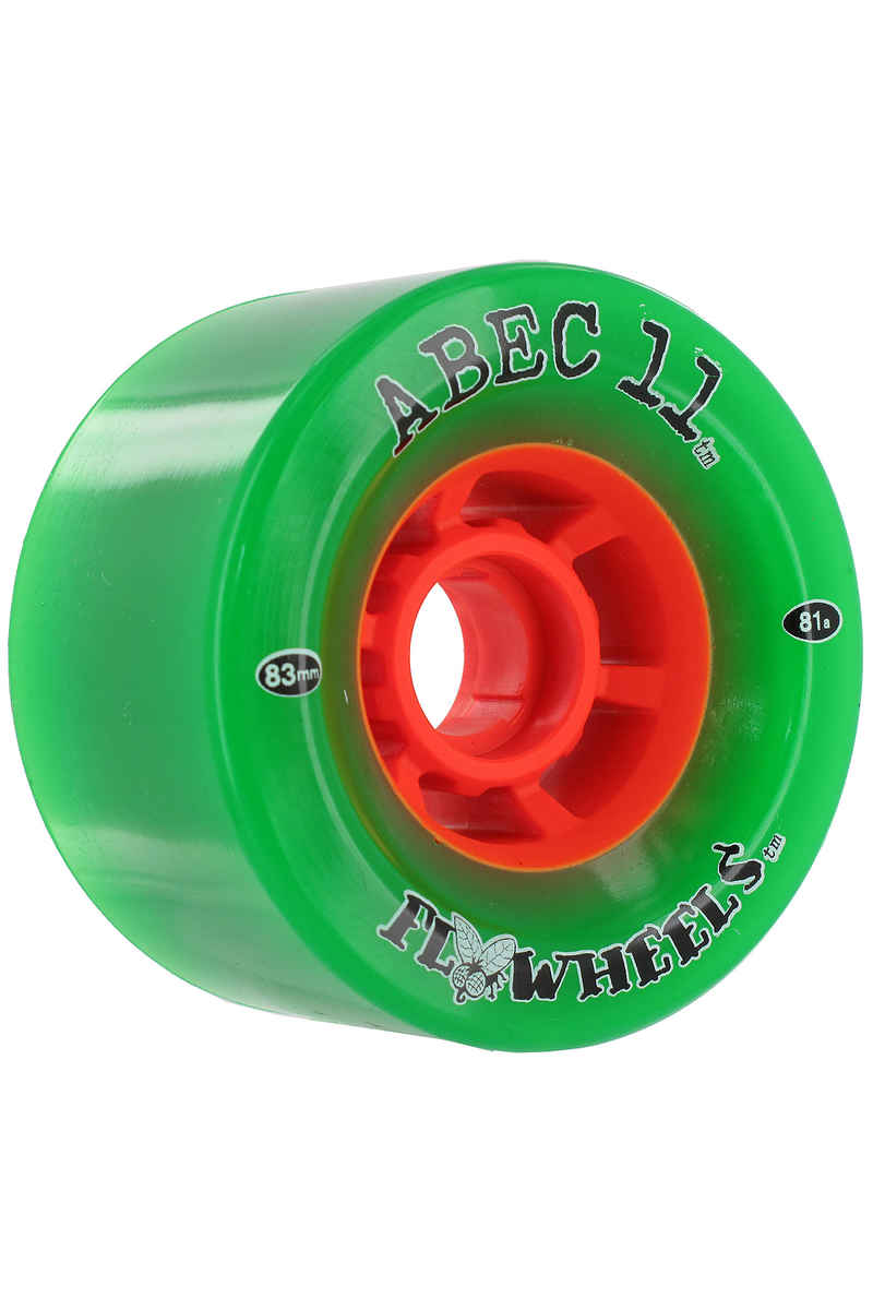 ABEC 11 Flywheels 83mm 81a Rueda 4er Pack (green)