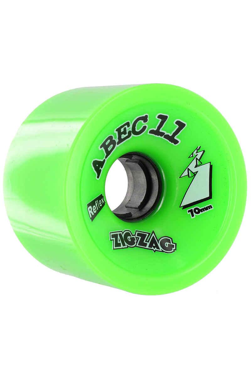 ABEC 11 Retro Zig Zags 70mm 80a Ruote pacco da 4