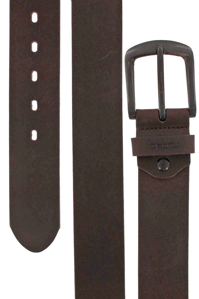 REELL All Black Buckle Riem (brown)