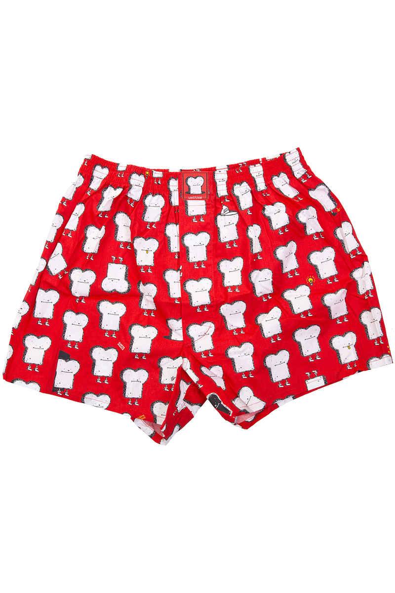 Lousy Livin Underwear Toast Boxer (grenadine)