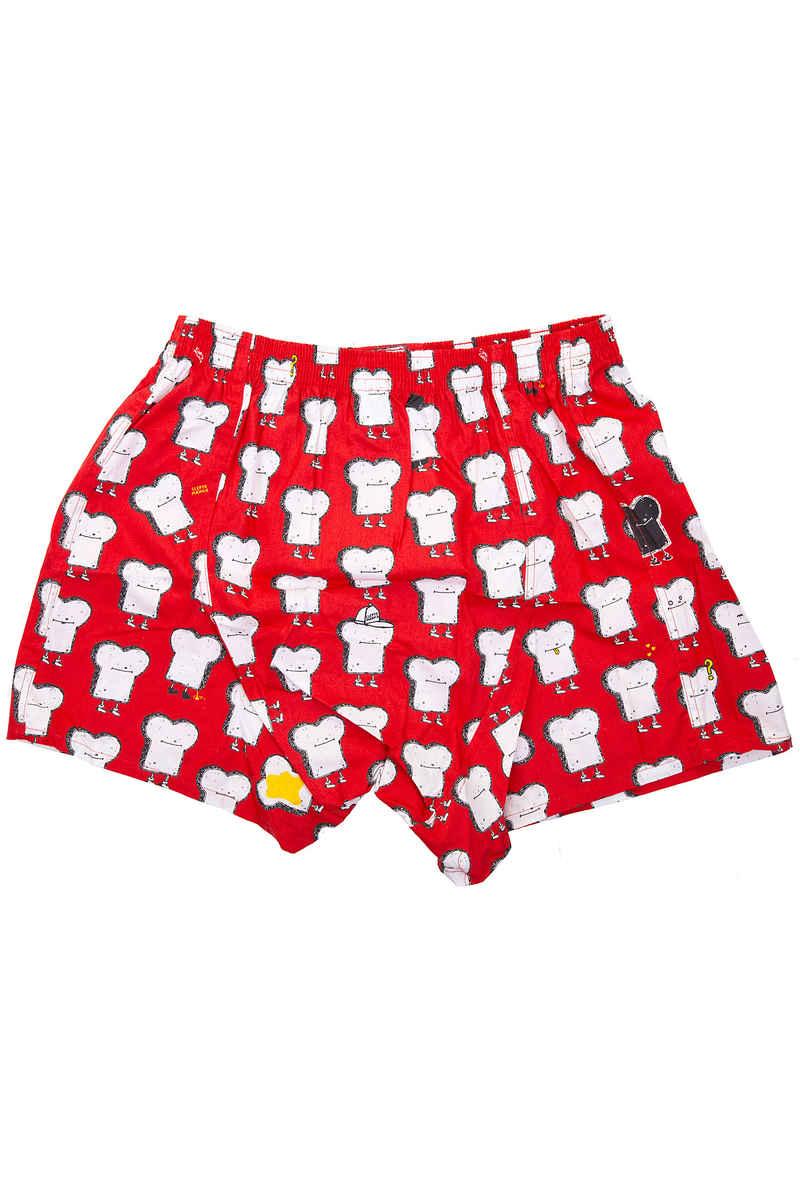 Lousy Livin Underwear Toast Boxers (grenadine)