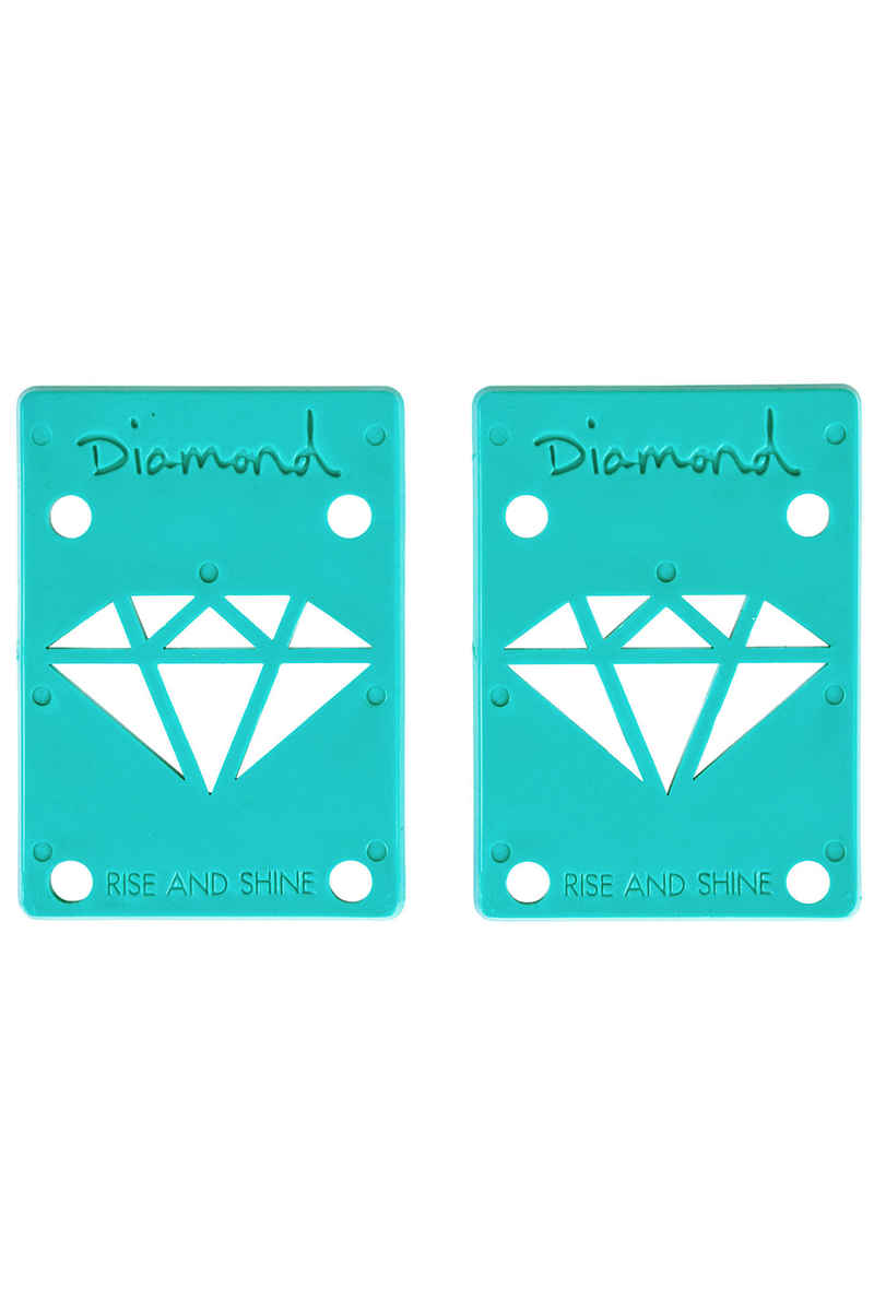 "Diamond 1/8"" Basic Riser Pads (diamond blue) 2er Pack"