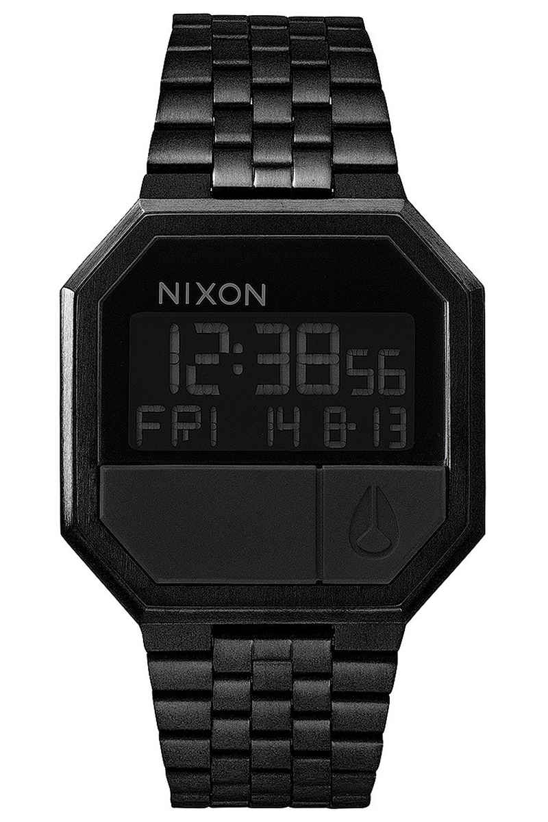 Nixon The Re-Run Watch (all black)