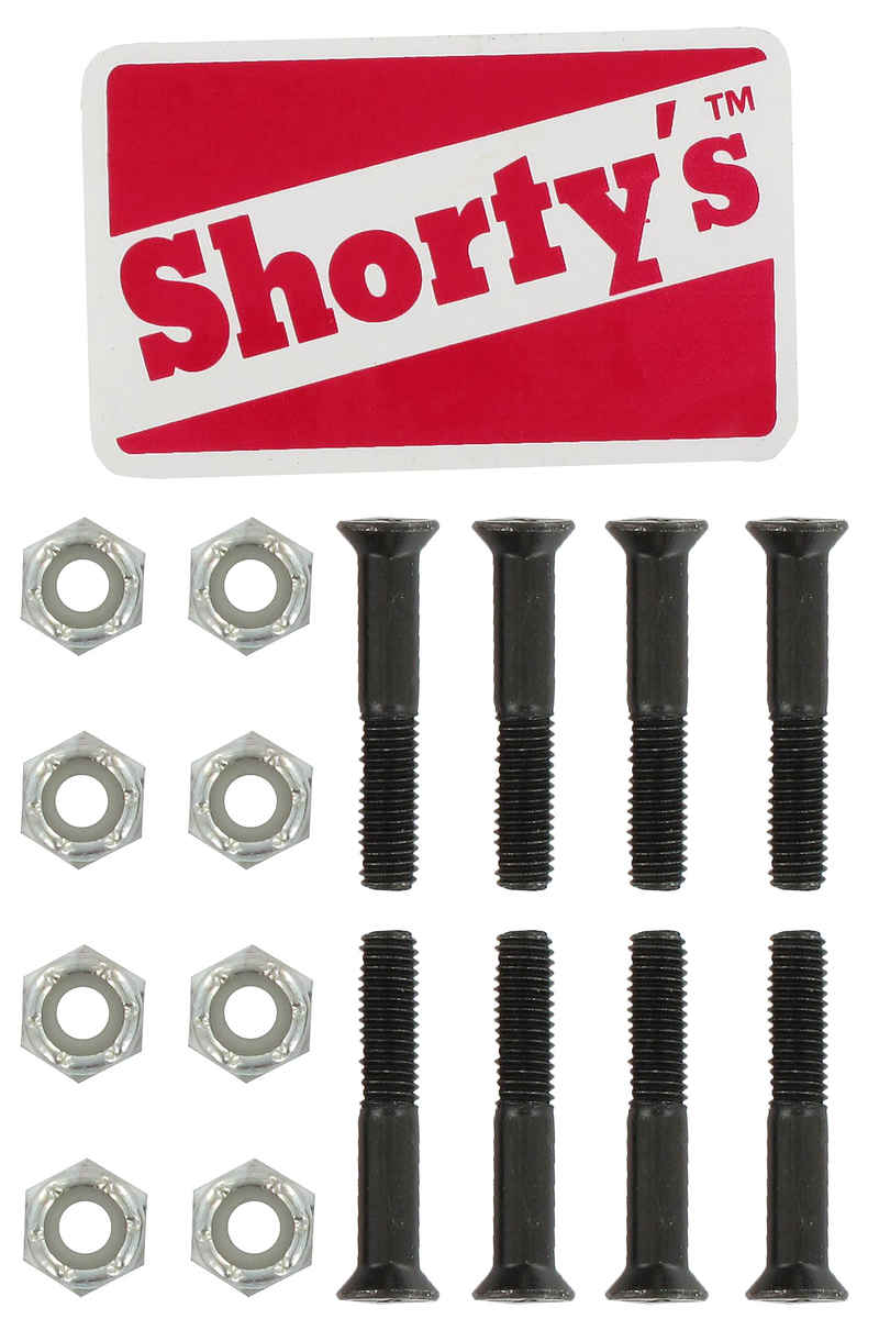 "Shortys 1 1/8"" Set de vis Flathead (tête fraisée) cross slot"