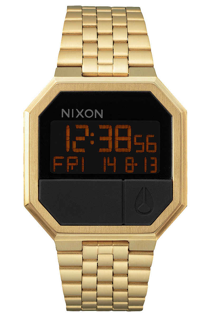 Nixon The Re-Run Watch (all gold)