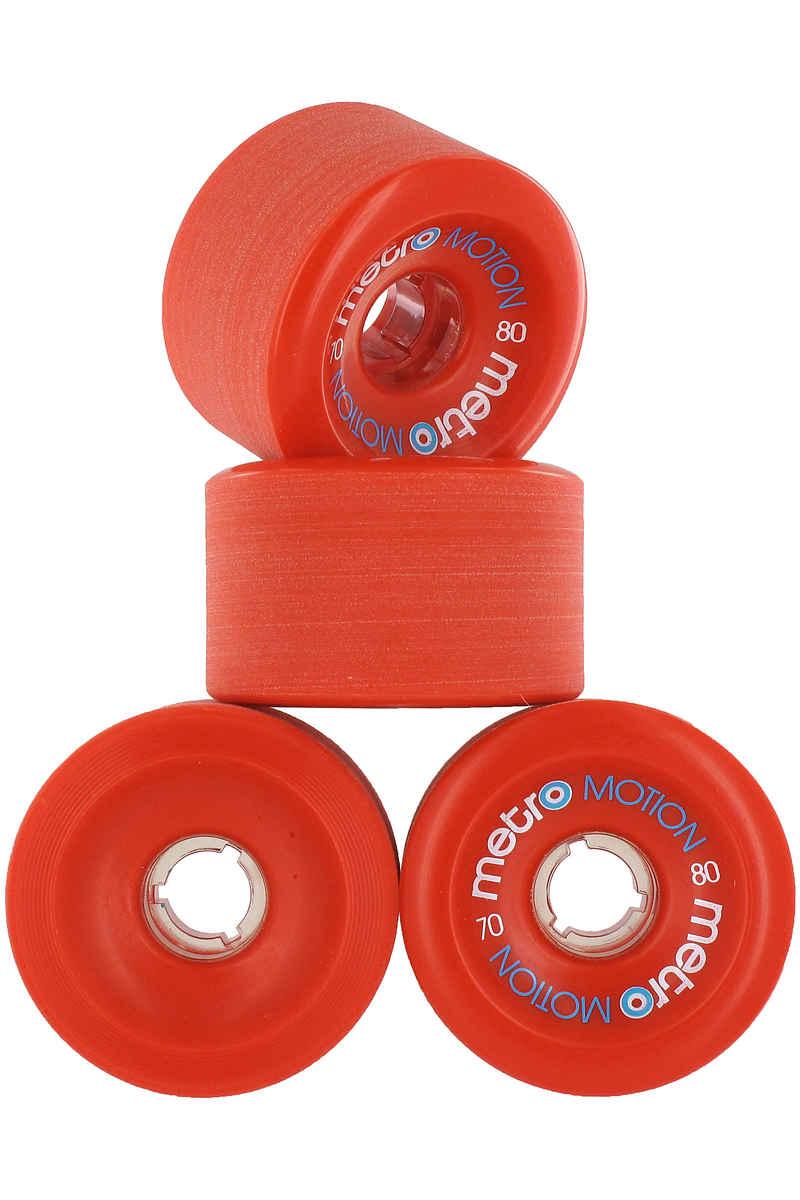 Metro Wheels Motion 70mm 80A Rollen (red) 4er Pack