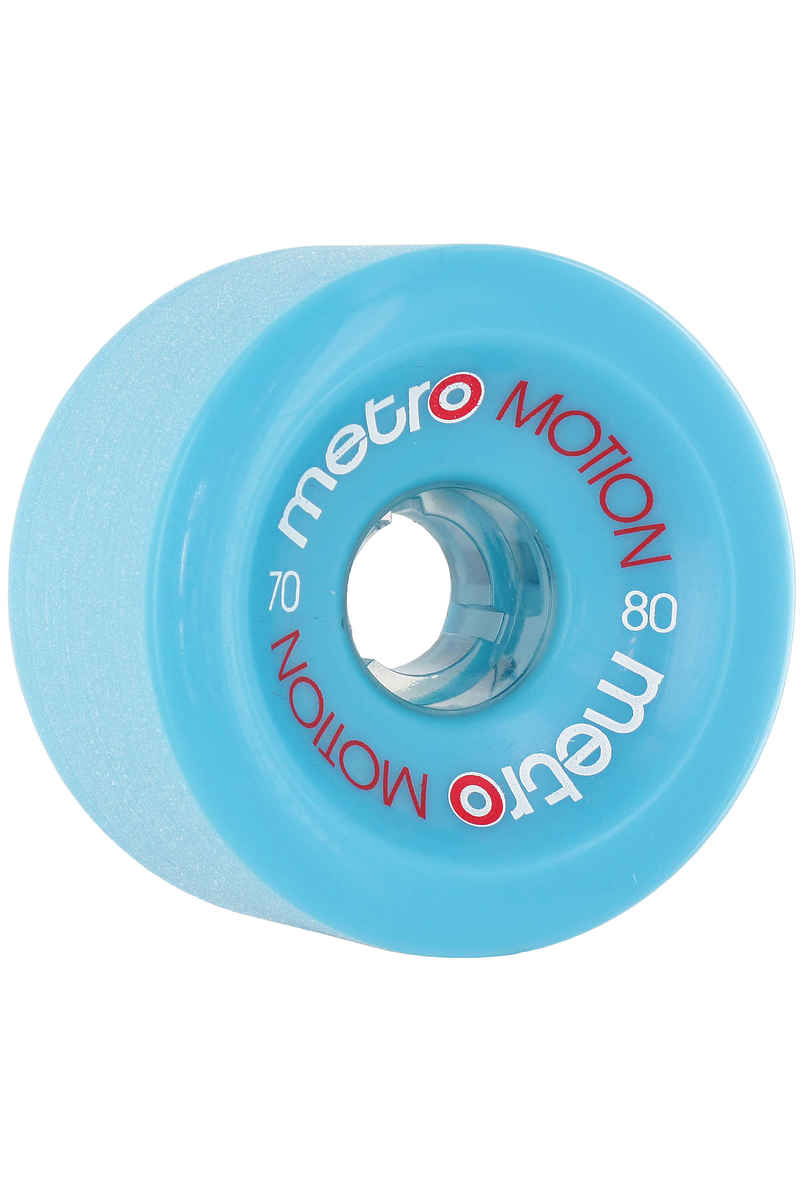 Metro Wheels Motion 70mm 80A Rollen (blue) 4er Pack