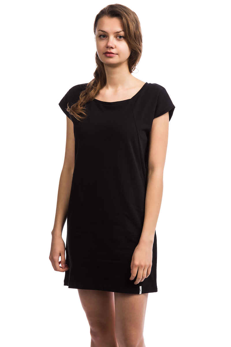 Cleptomanicx Organicxx Robe women (black)