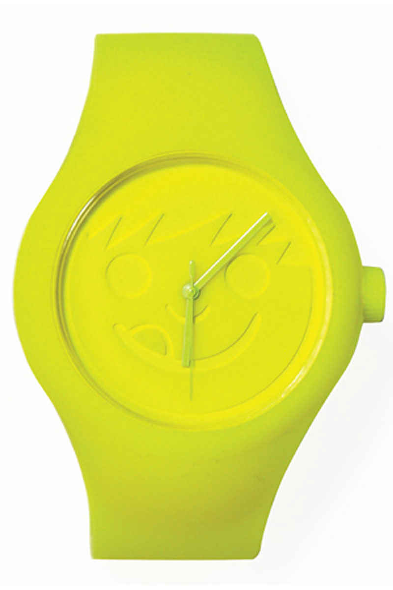 Neff Timely Uhr (yellow)