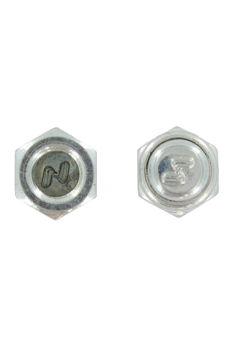 Silver Axlshield Mutter (silver) 2er Pack