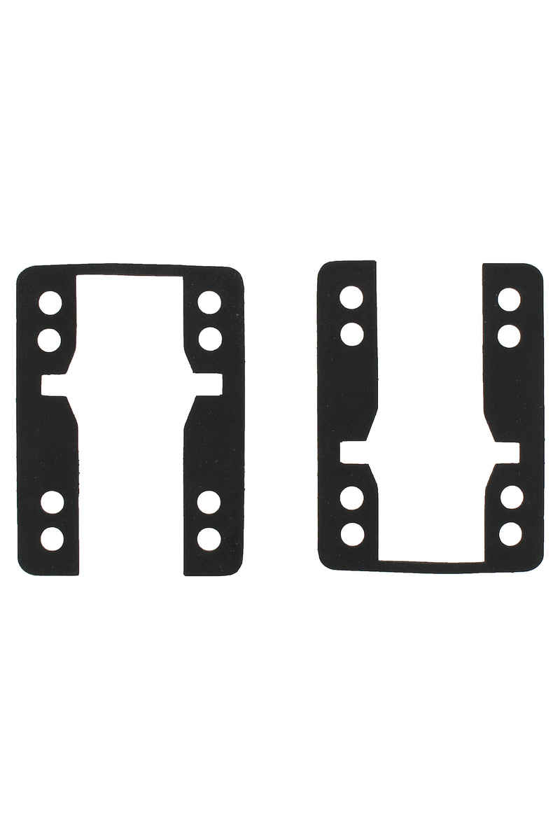 "Khiro 0.062"" Drop Thru Shock Pad (black) pacco da 2"