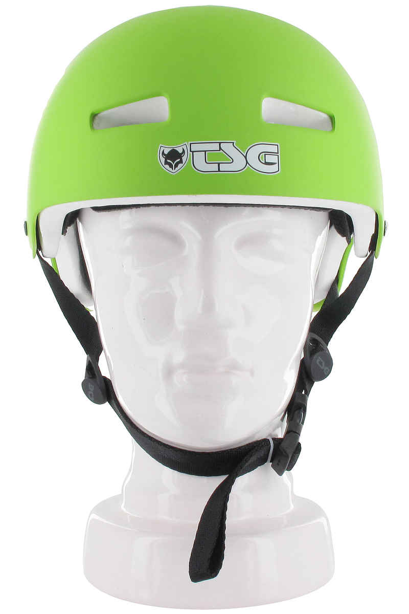 TSG Evolution-Solid-Colors Helm (satin lime green)