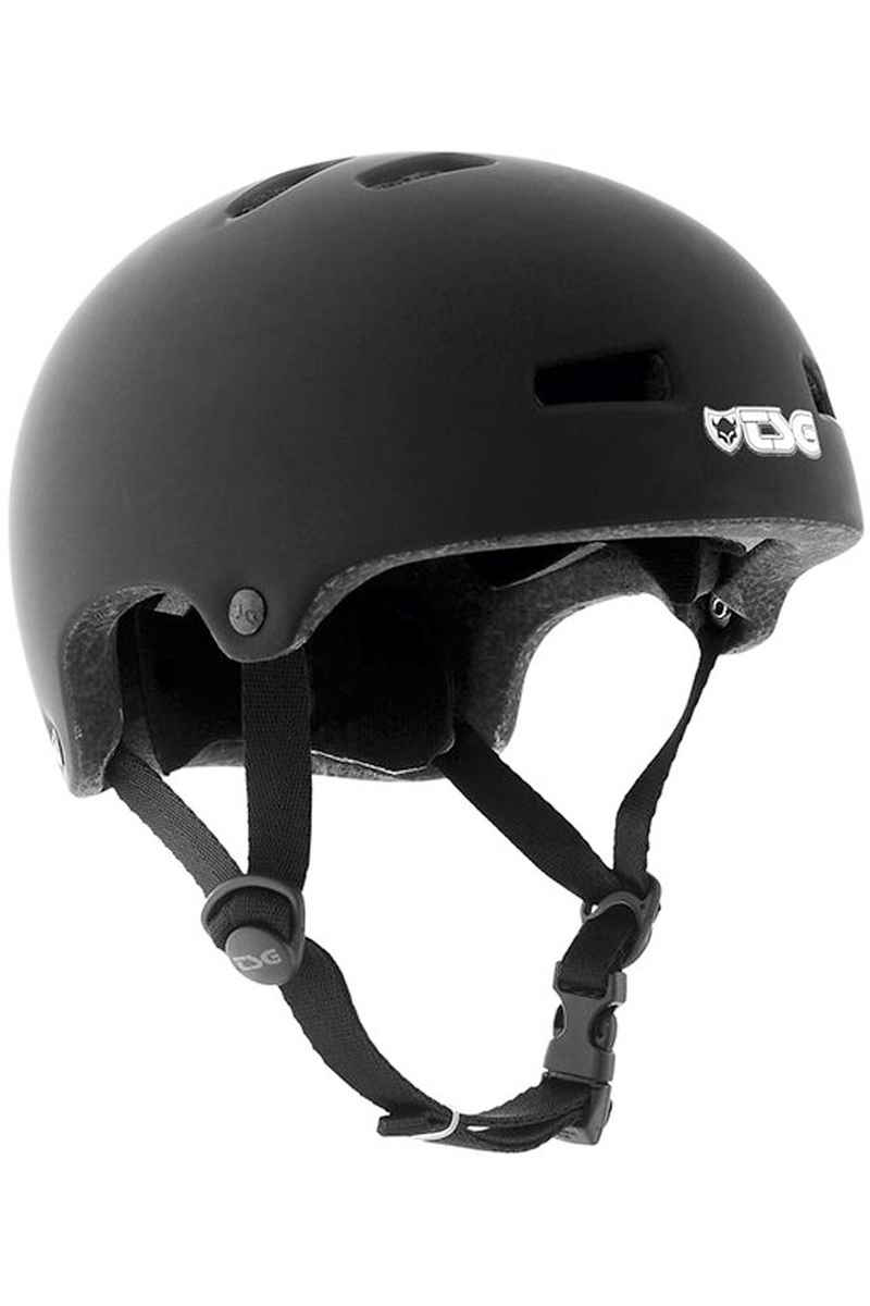 TSG Nipper Mini Solid Color Casque kids (flat black)