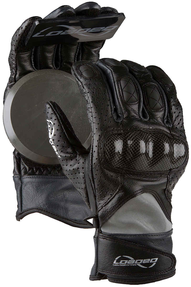 Loaded Race Gloves v.2 Hand Bescherming (black)