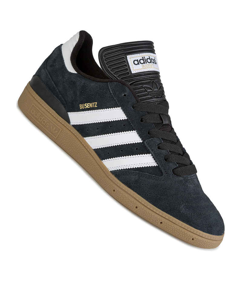 adidas Skateboarding Busenitz Zapatilla (black white metallic gold)