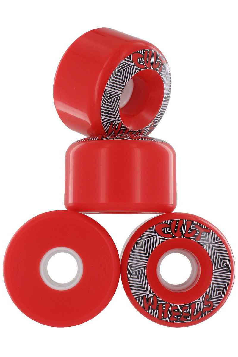 Cult Converter Rollen (red) 4er Pack 70mm 85A