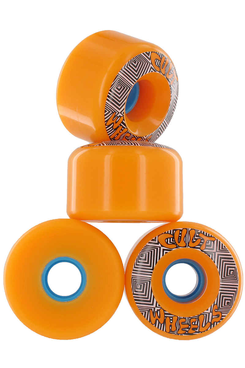 Cult Converter Wheels (orange) 4 Pack 70mm 85A