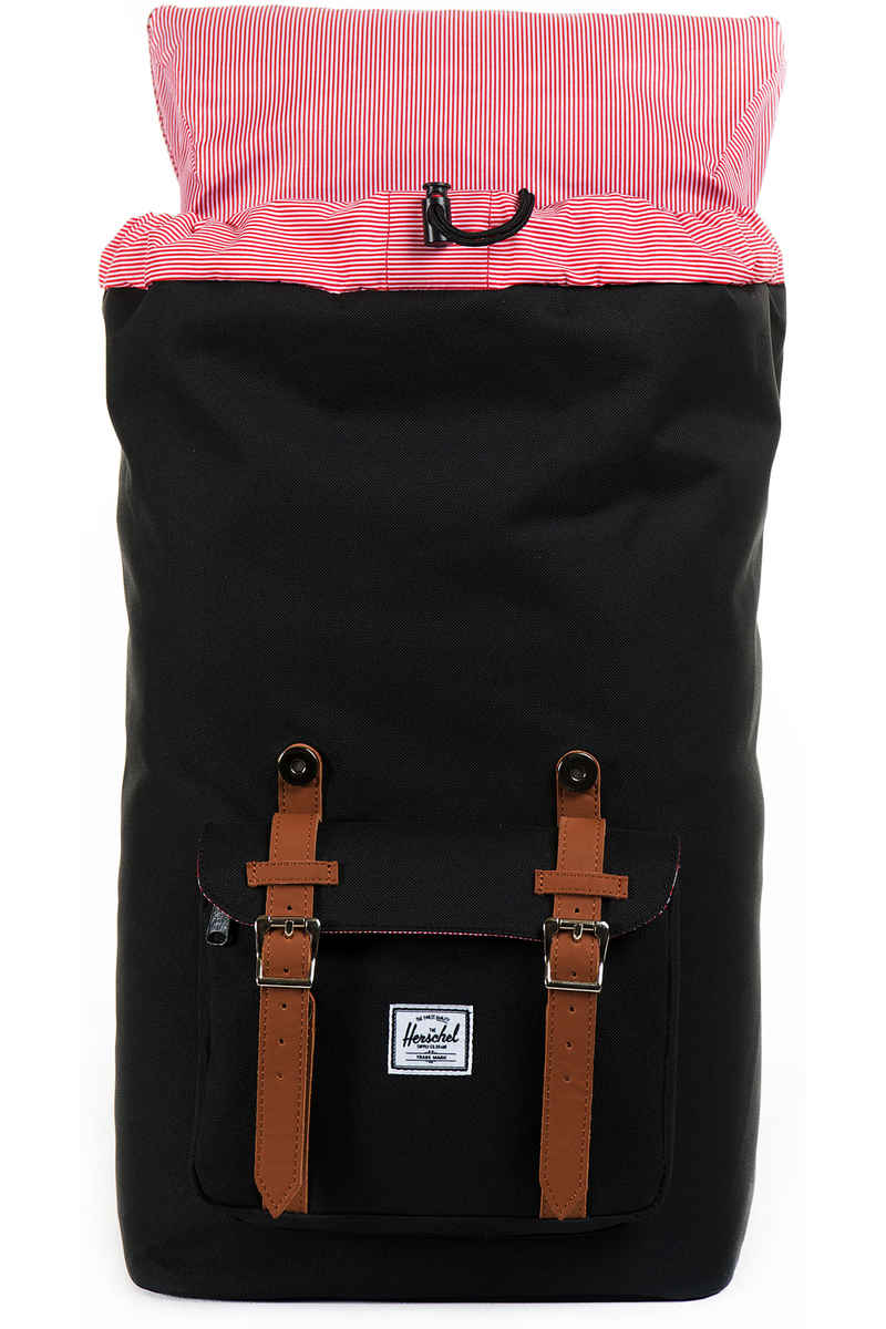 Herschel Little America Backpack 25L (black tan)