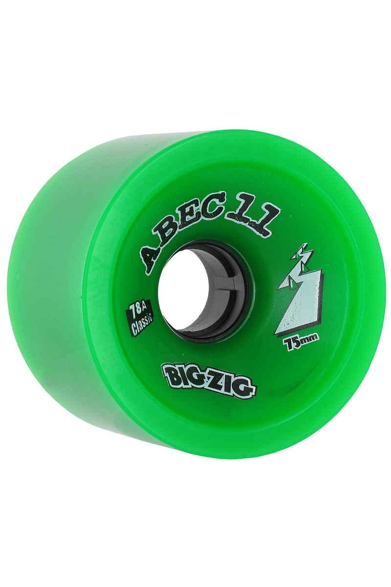 ABEC 11 Big Zigs Classic 75mm 78a Rollen (green) 4er Pack
