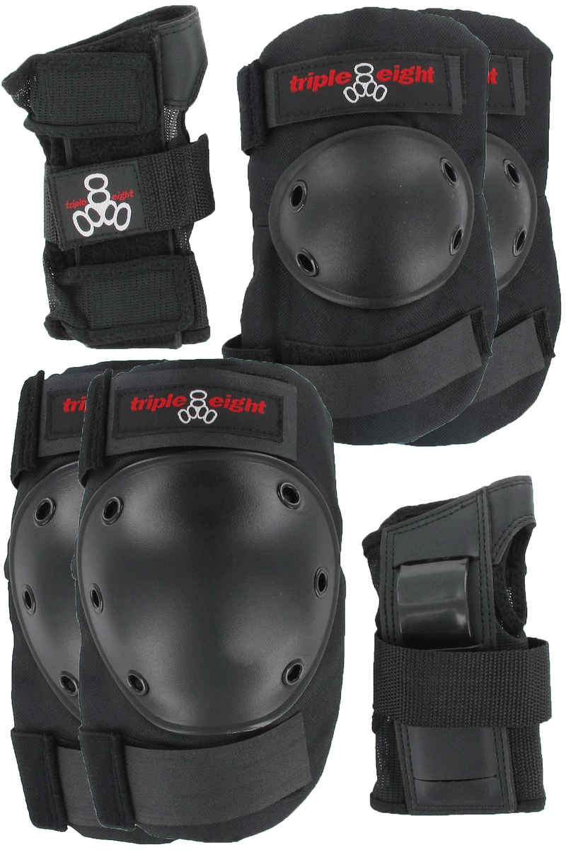 Triple Eight 3 Pack Protection-Set (black)