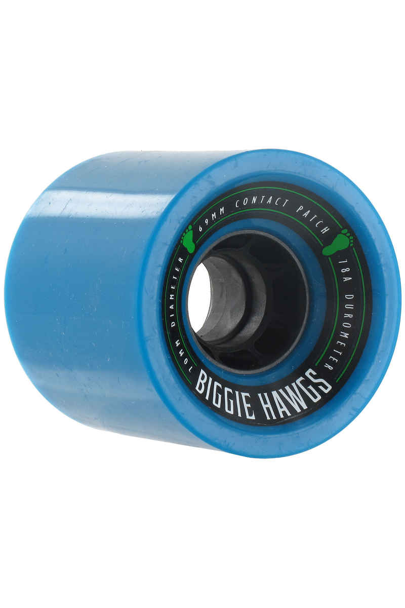 Hawgs Biggie 70mm 78A Roue (blue) 4 Pack