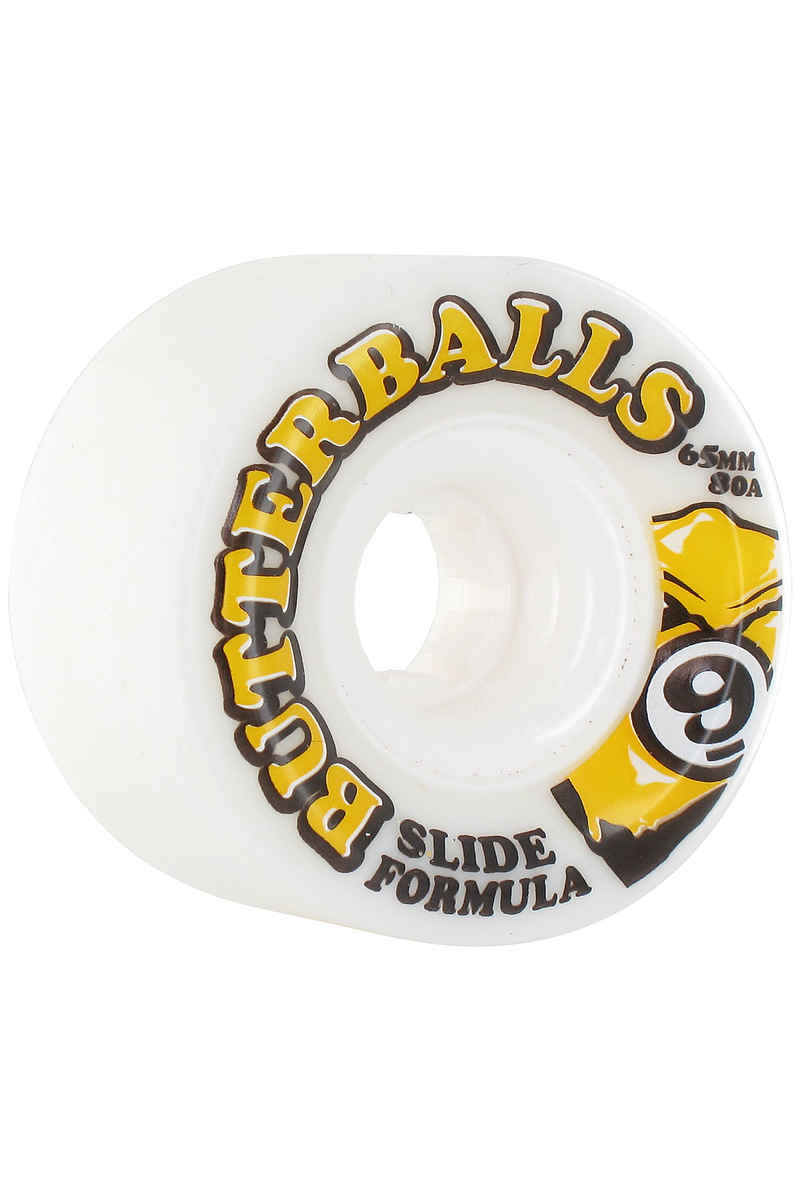 Sector 9 Butterballs 65mm 80A CS Wheels (white) 4 Pack