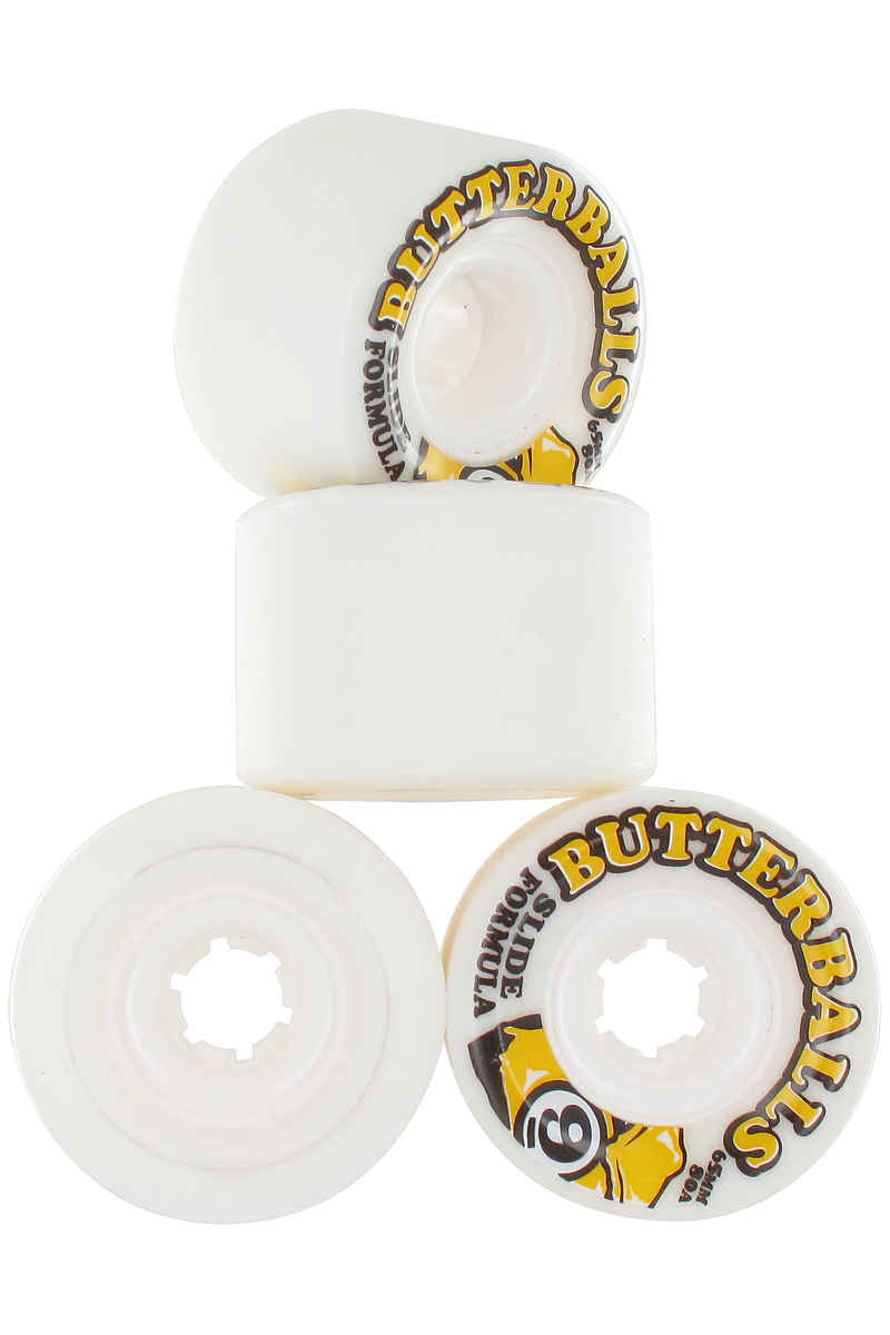 Sector 9 Butterballs 65mm 80A CS Roue (white) 4 Pack