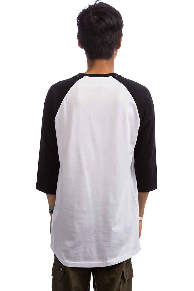 Vans Full Patch 3/4 Longsleeve (white black)