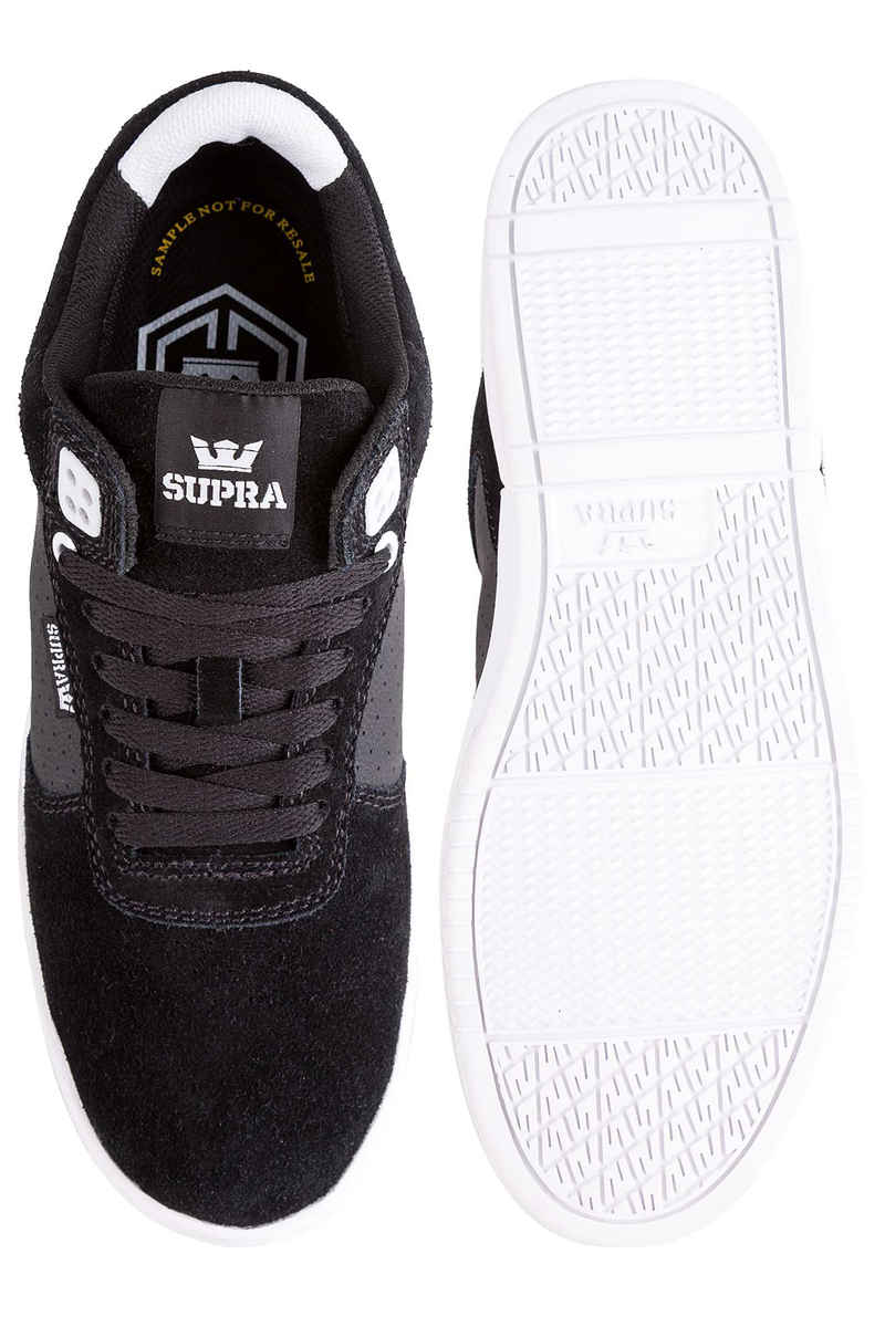 Supra Ellington Suede Chaussure (black white)