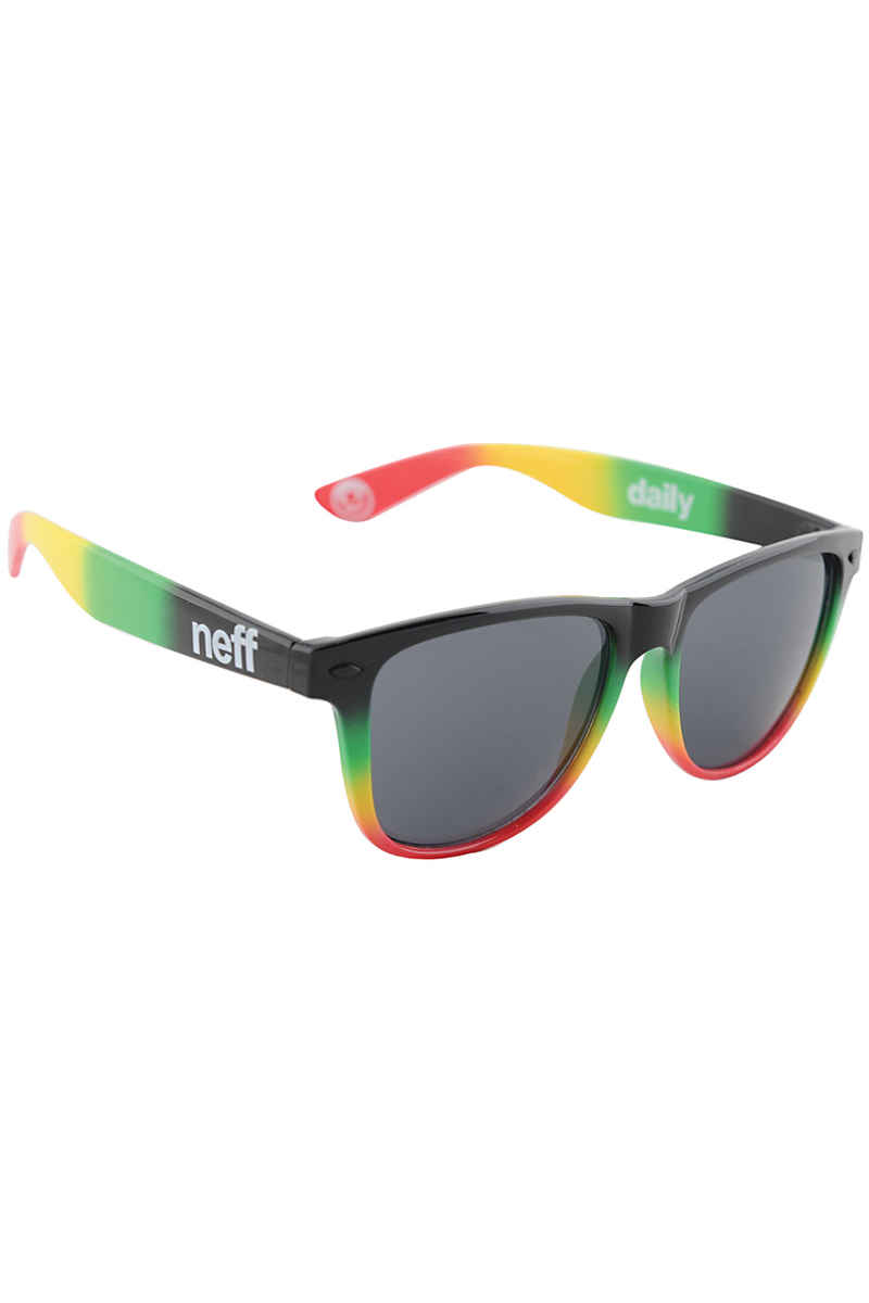Neff Daily Sonnenbrille (rasta spray)