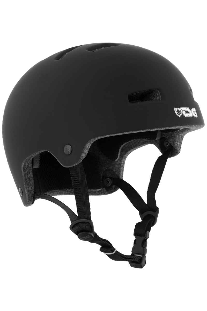 TSG Nipper Maxi Solid Color Casco kids (satin black)
