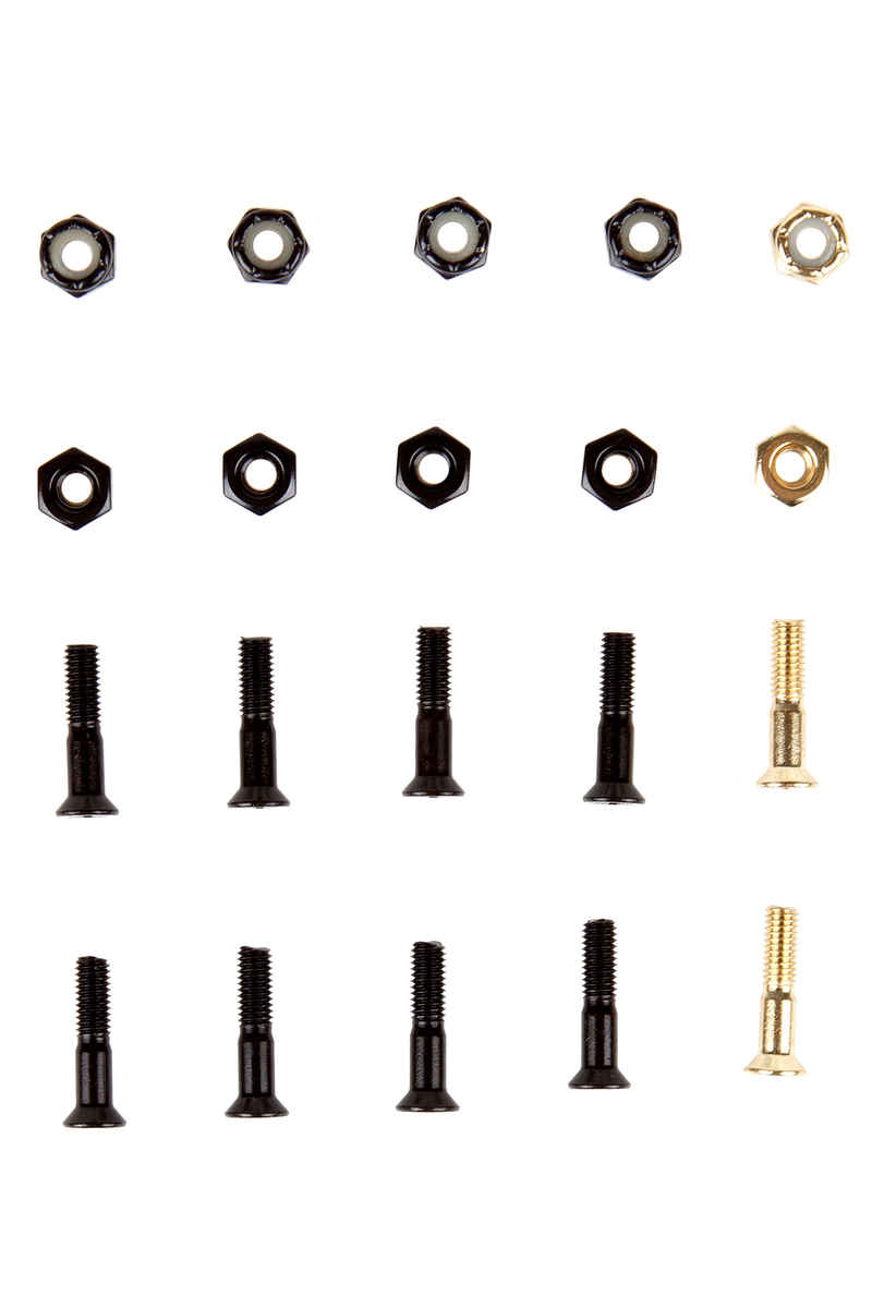 """SK8DLX Premium Bolts 7/8"""" Kit di montaggio Testa svasata Intaglio a croce"""