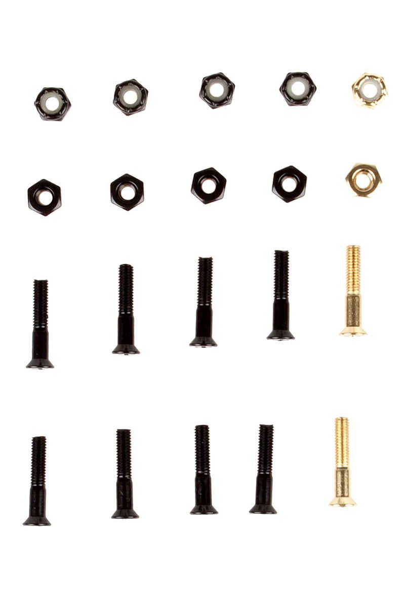"""SK8DLX Premium Bolts 1"""" Kit di montaggio Testa svasata Intaglio a croce"""