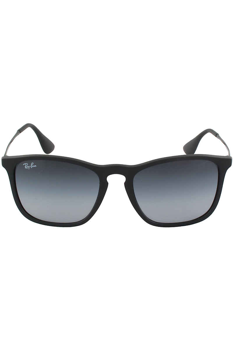 Ray-Ban Chris Sonnenbrille 54mm (rubber black grey gradient)