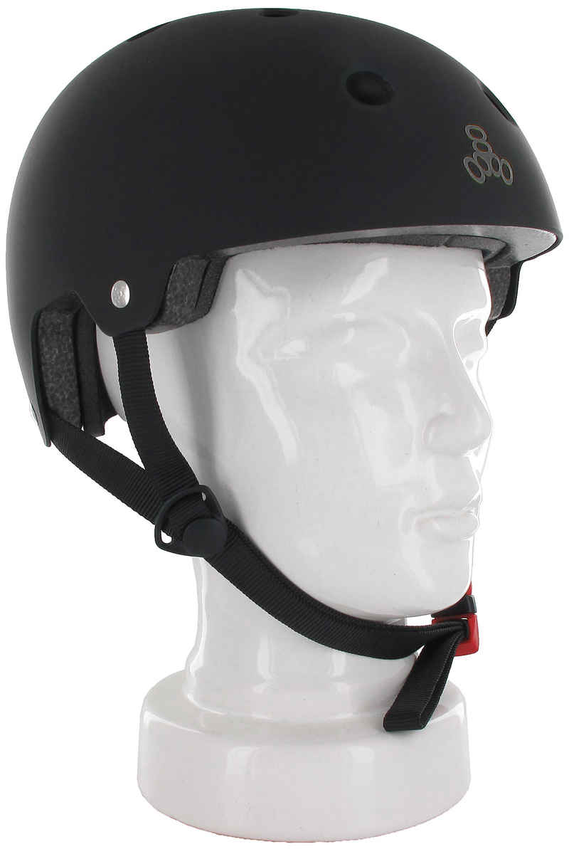 Triple Eight Brainsaver Casque (all black rubber)