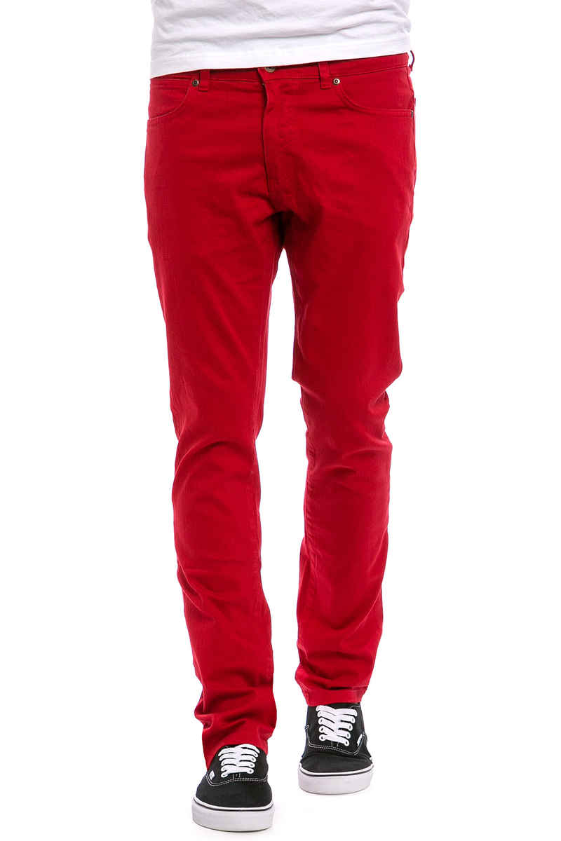 TPDG SUPPLIES CO. TPDG x SK8DLX Nostrand  Jeans (red)
