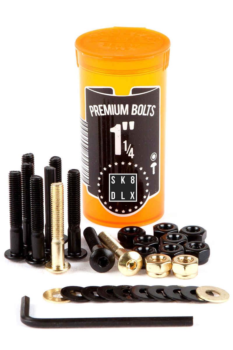 """SK8DLX Premium Bolts 1 1/4"""" Kit di montaggio Testa cilindrica con calotta Esagono cavo"""