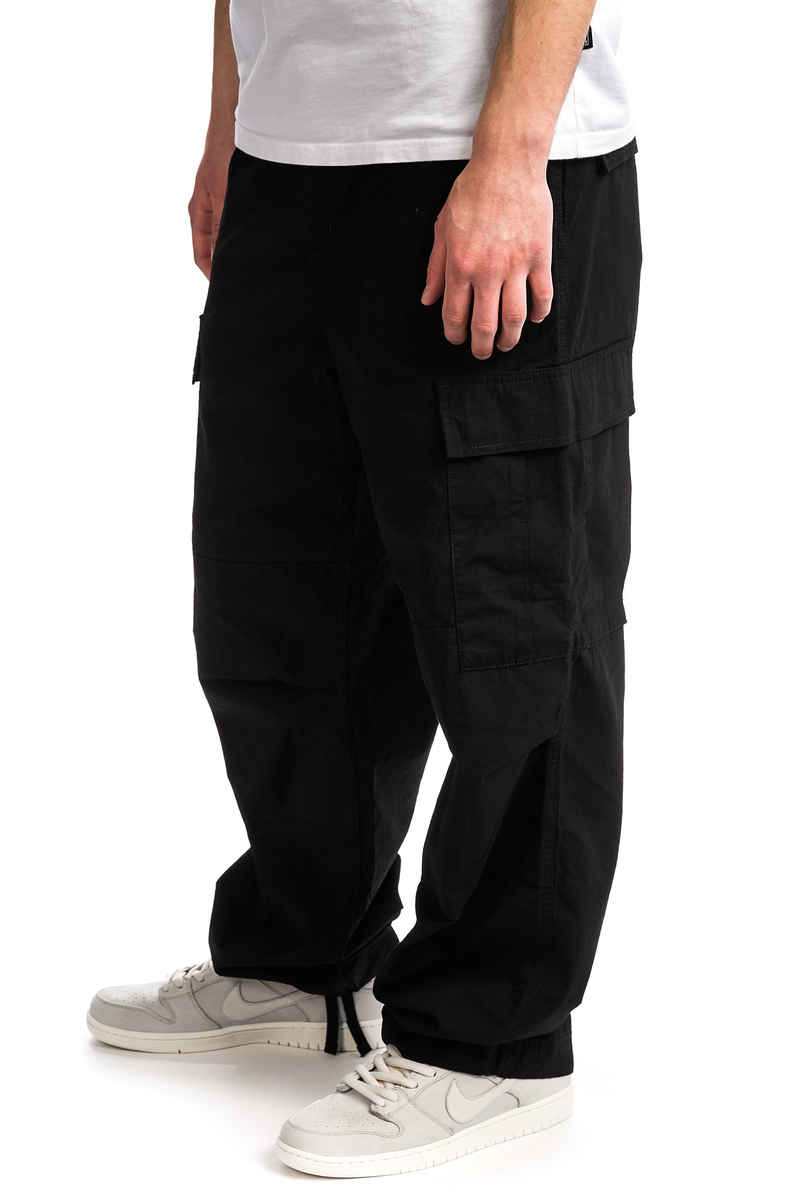 Carhartt WIP Cargo Pant Columbia Pantalons (black rinsed)