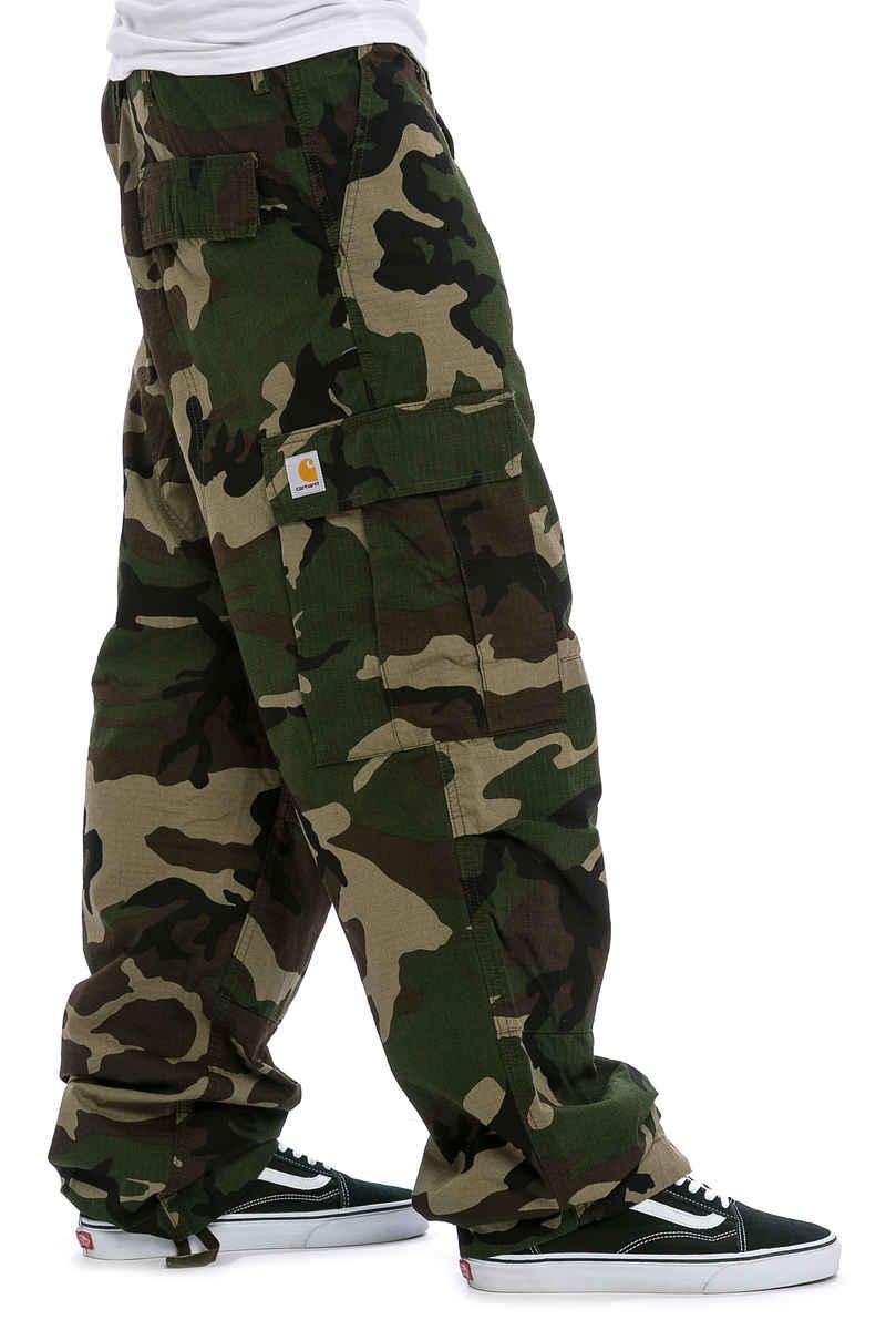 Carhartt WIP Cargo Pant Columbia Pants (camo green rinsed)