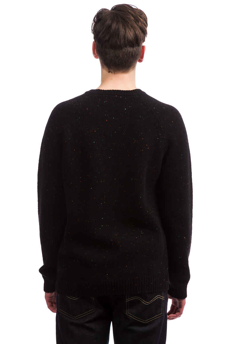 Carhartt WIP Anglistic Sweater (black heather)