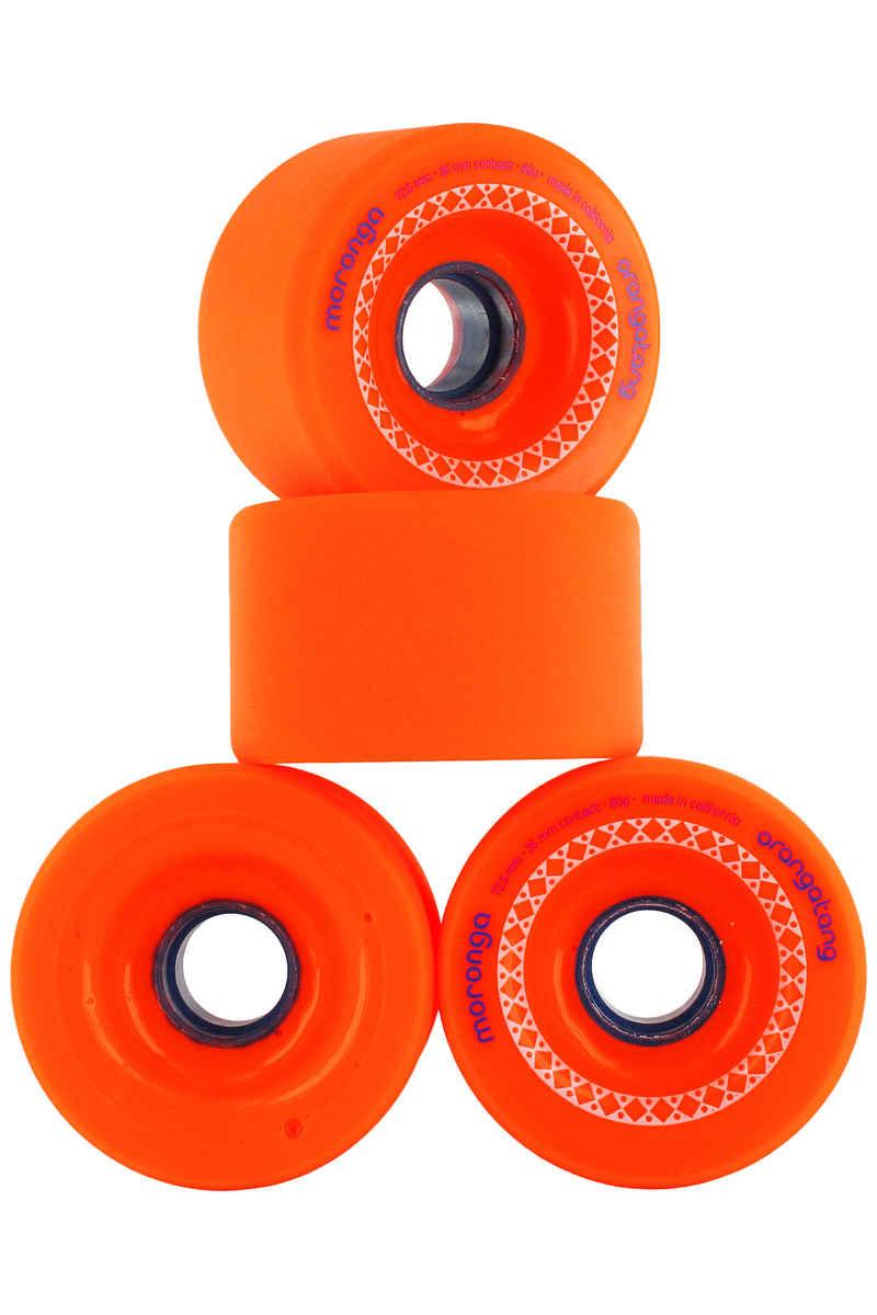 Orangatang Moronga Wheels (orange) 4 Pack 73mm 78A