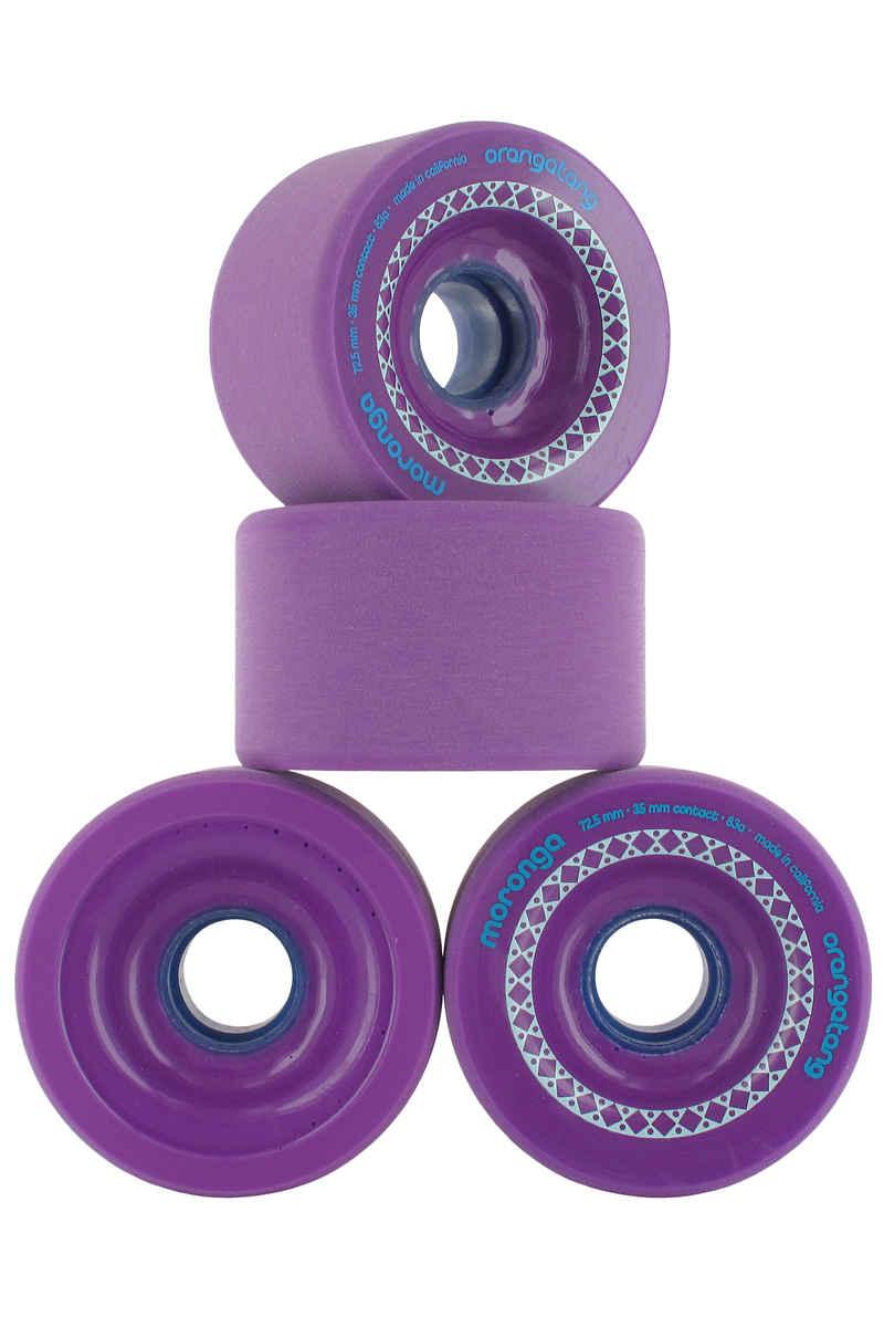 Orangatang Moronga 72.5mm 83A Rollen (purple) 4er Pack